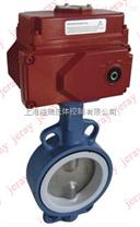LD941F4-16Z法兰耐腐蚀电动铁衬氟蝶阀,
