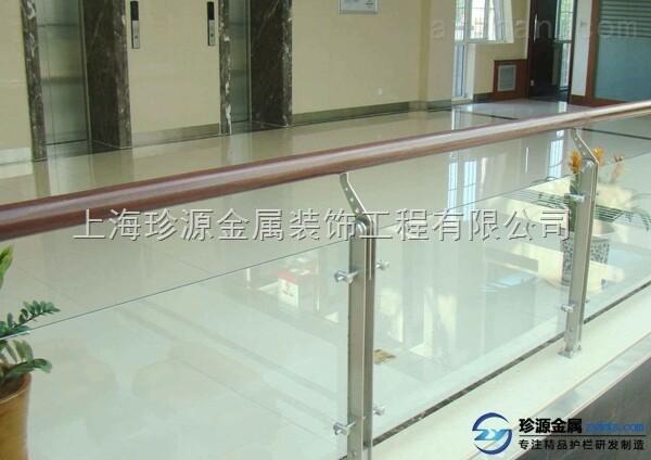 不锈钢玻璃栏杆 阳台栏杆 不锈钢玻璃栏杆 不锈钢带立柱玻璃栏杆