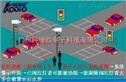 行人 闖紅燈自動識別抓拍系統,行人人臉識別攝像機