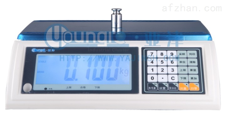 ACS-AHL系列高精度电子计数桌秤