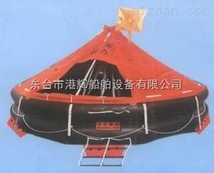 长期供应船用抛投式气胀救生筏