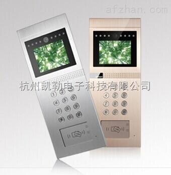 z12a-安居宝楼宇对讲系统z12a主机-杭州凯勒电子科技