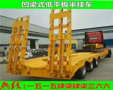 镶黄旗抽拉式低平板半挂车用途 特点