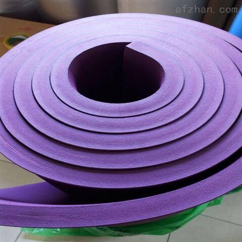 常用阻燃橡塑保温板密度