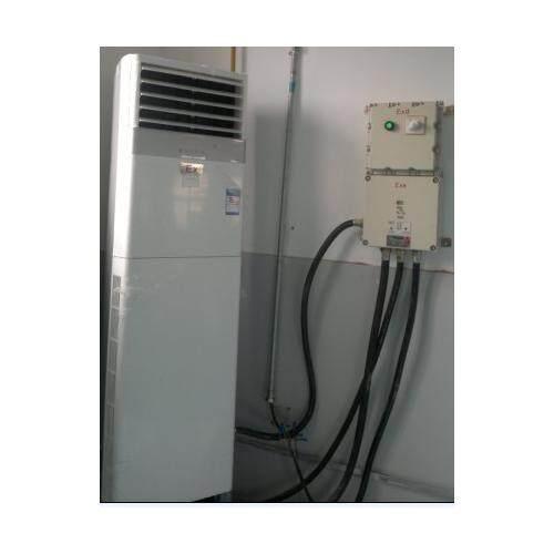 防爆空调室外机现场安装示意图