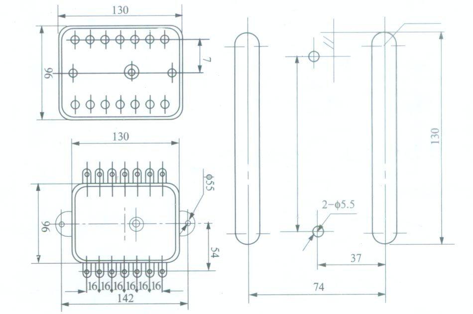 )端子5和6接中间继电器或
