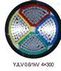 电力电缆:YJLV 3*300+1*150铝芯电缆价格
